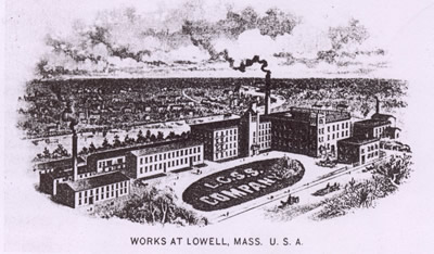Lamson works at Lowell Mass.