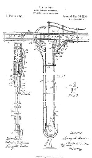 Diagram from patent no. 1176807 assigned to Lamsons